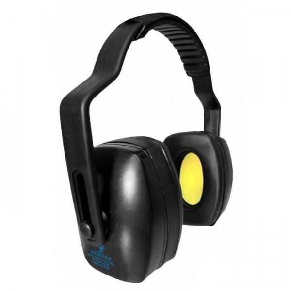Protetor Auricular Concha Agena ARS Preto NRRsf 24DB C.A.7166
