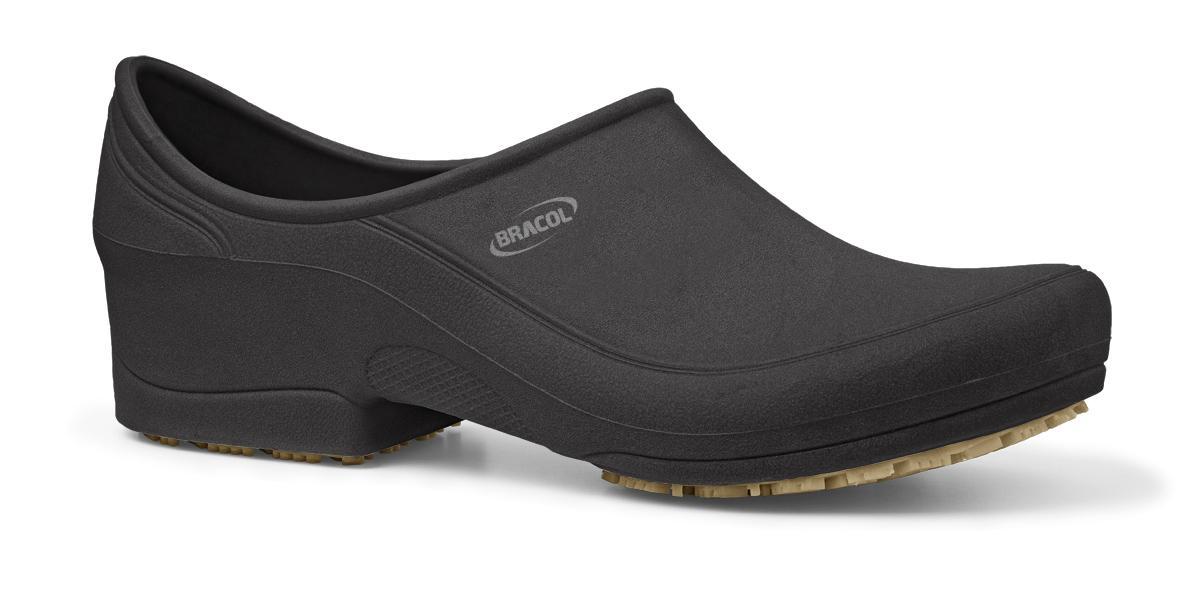 Sapato Ocupacional Impermeável Flip Preto Bracol