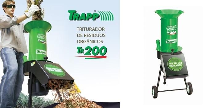Triturador de Resíduo Trapp TR200