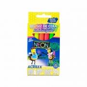 Big Giz de Cera Fantasia Glitter com Efeito Neon 6 Cores