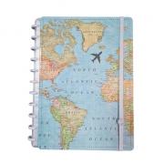 Caderno Inteligente By Gocase Mapa Mundi