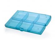 Caixa Organizadora Azul Waleu