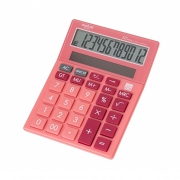 Calculadora de Mesa 12 Dígitos Rosa MC 8112 Molin
