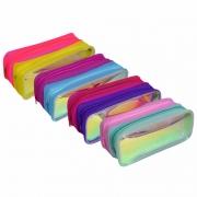 Estojo Cristal Holográfico Duplo Neon Dac E216
