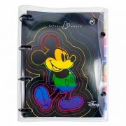 Fichário Universitário Cristal Mickey