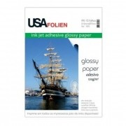 Glossy Paper Adesivo C/10 Fls A4 120 G/m2