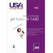Jet Folien 1440 C/ 50 Fls A4 100 Microns Transp P/ Impr