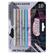 Marcador Metalizado Soul C/ 6 Cores