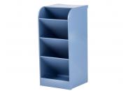 Organizador Diagonal Waleu Azul Pastel
