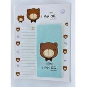 Papel de Carta Urso