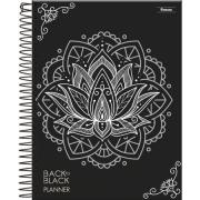 Planner Permanente Back to Black Mandala