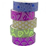 Washi Tape Brilhante Colorida