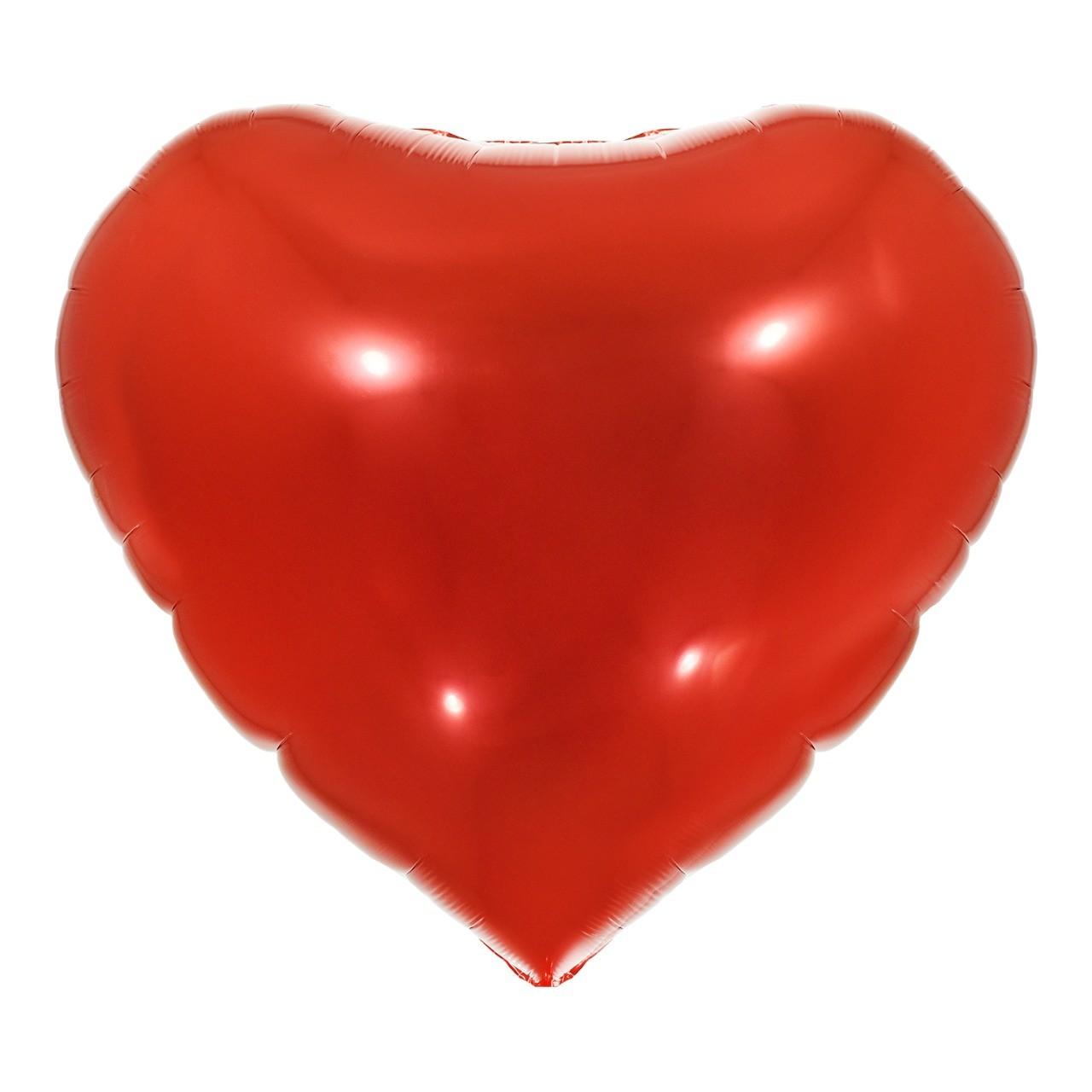 Balão Coração Vermelho 18'