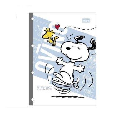 Bloco Para Fichário Snoopy