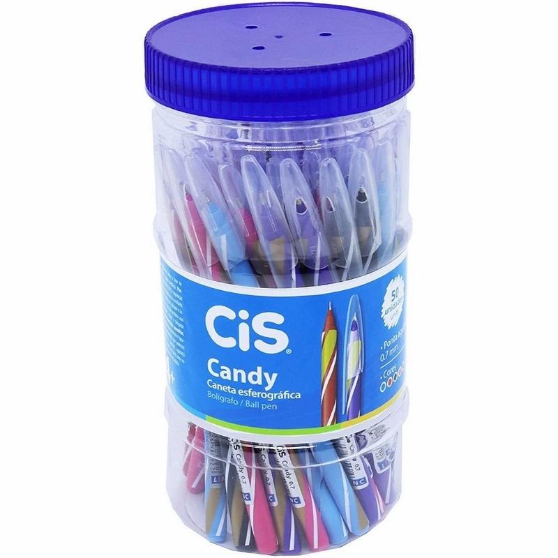 Caneta Esferográfica Cis Candy 0.7mm