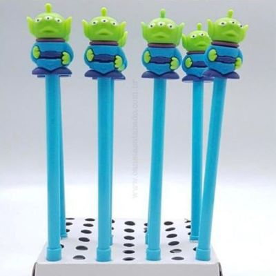 Caneta Extra Terrestre Toy Story Ponta Fina Gel 0.5 Preta