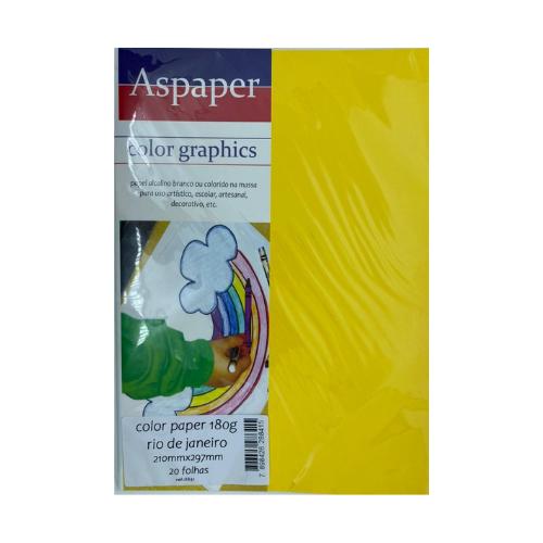 Color Paper Rio De Janeiro A4 C/ 20 Fls 180G