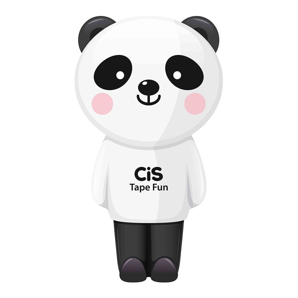 Corretivo em Fita Tape Fun Panda 5mm X 6m