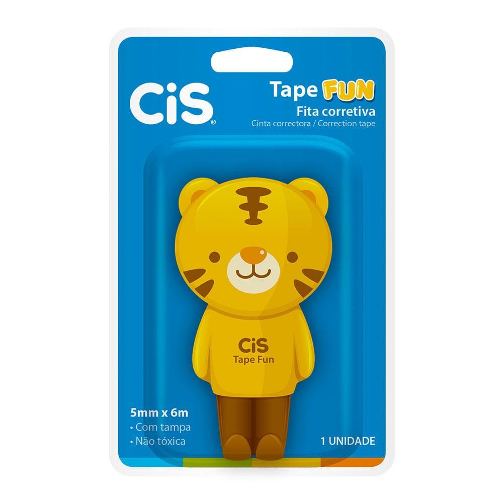 Corretivo em Fita Tape Fun Tigre 5mm X 6m