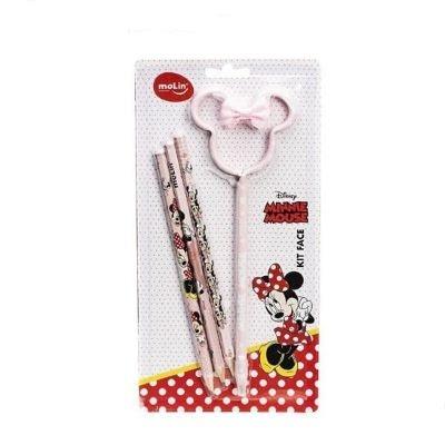 Kit Lapis e Caneta Minnie Mouse