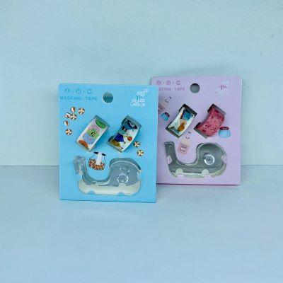 Kit Mini Washi Tape com Suporte