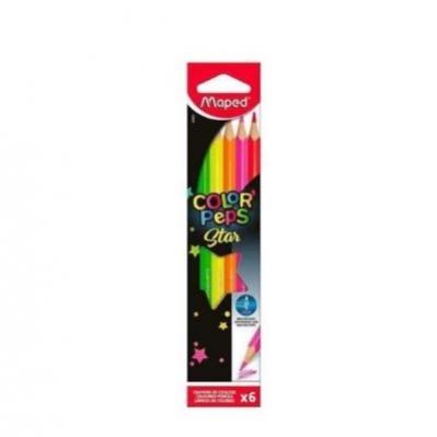 Lápis De Cor Color Peps Star
