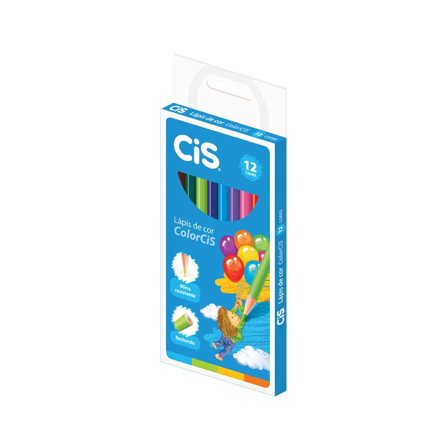 Lápis de Cor Colorcis 12 Cores