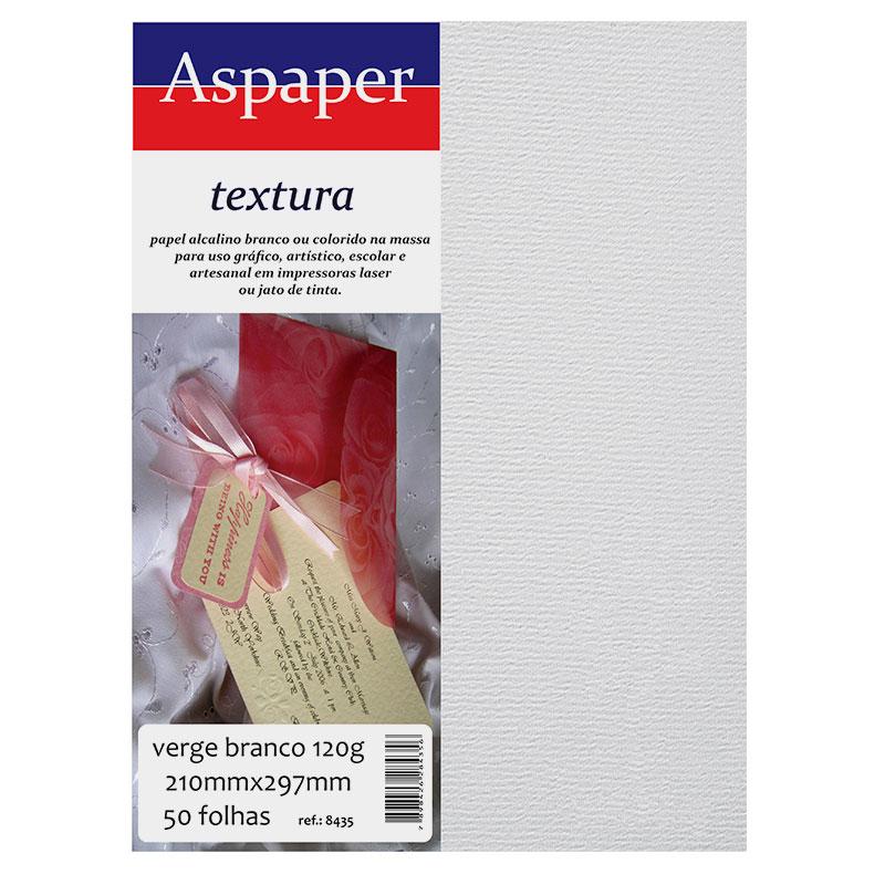 Textura Vergê Creme C/ 50 Fls A4 120 G