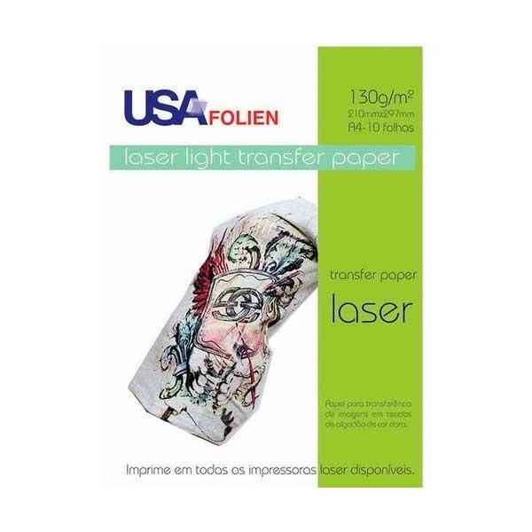 Transfer Laser Light C/ 10 Fls A4 130 G/m2
