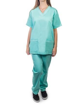 Pijama cirúrgico verde hospital