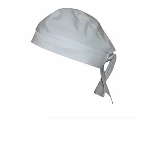 Touca bandana branca