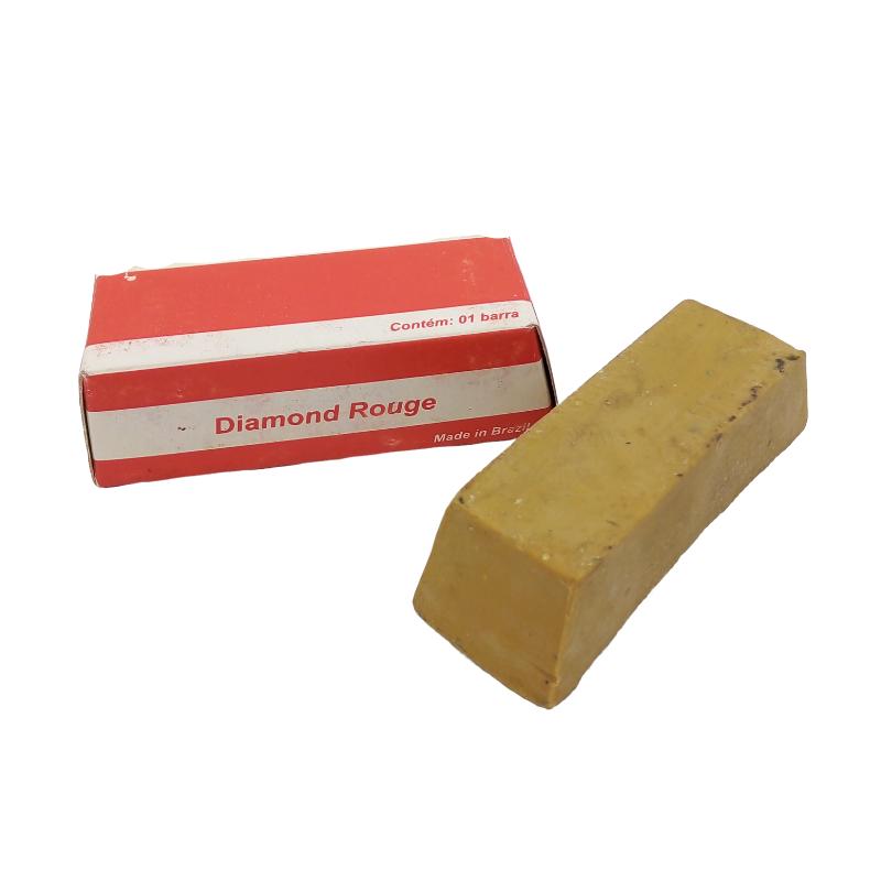 Barrinha amarela para polimento de acrilico 70g