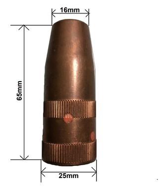 Bocal 16x65 Encaixe 25mm Rosca ME610