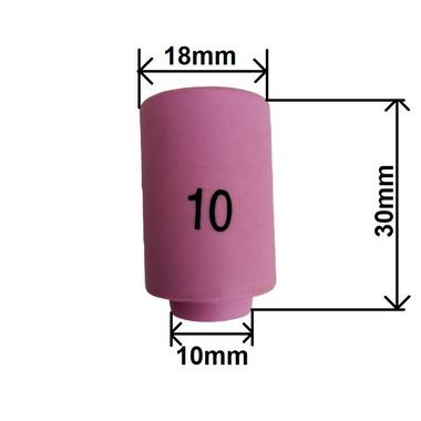 Bocal de Cerâmica 10mm x 30mm N.10  13N13 TE425