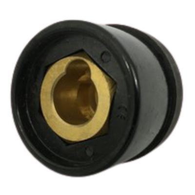 Conector engate fêmea 13mm para máquinas de solda