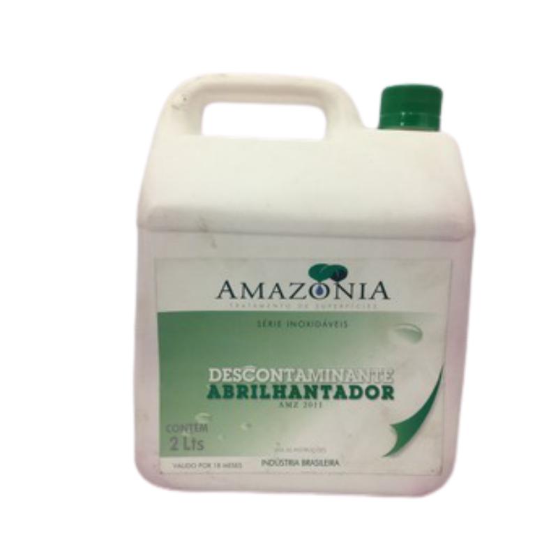 Descontaminante e Abrilhantador p/ Inóx 2 litros p/Inóx AMZ 2011