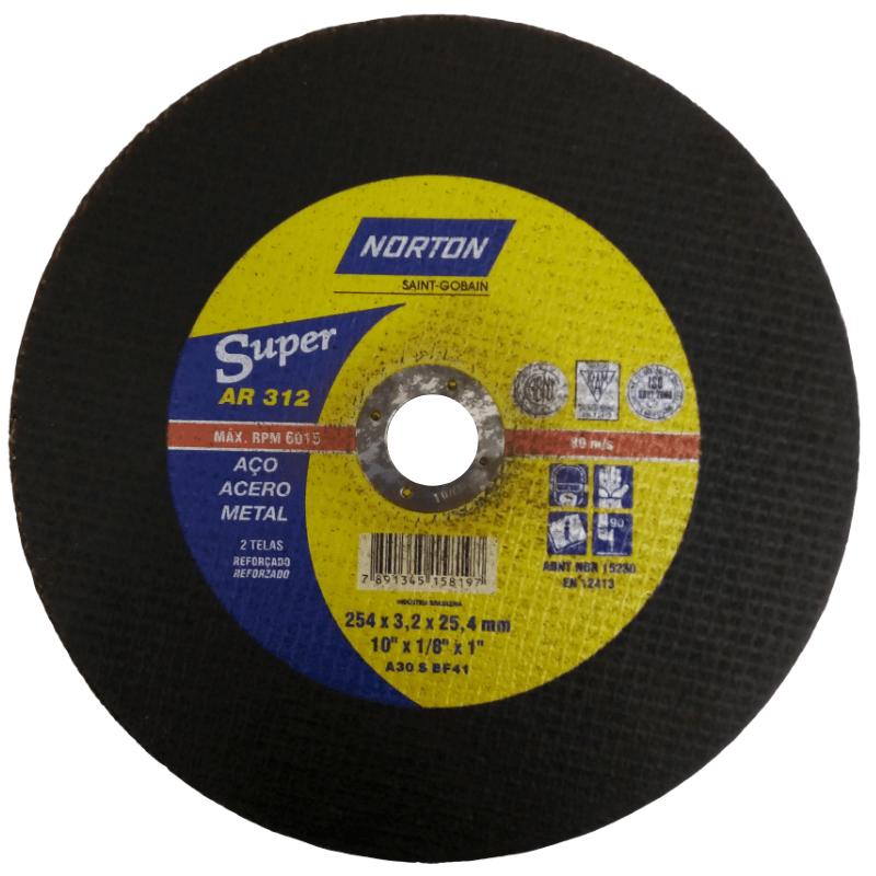 Disco de corte 10