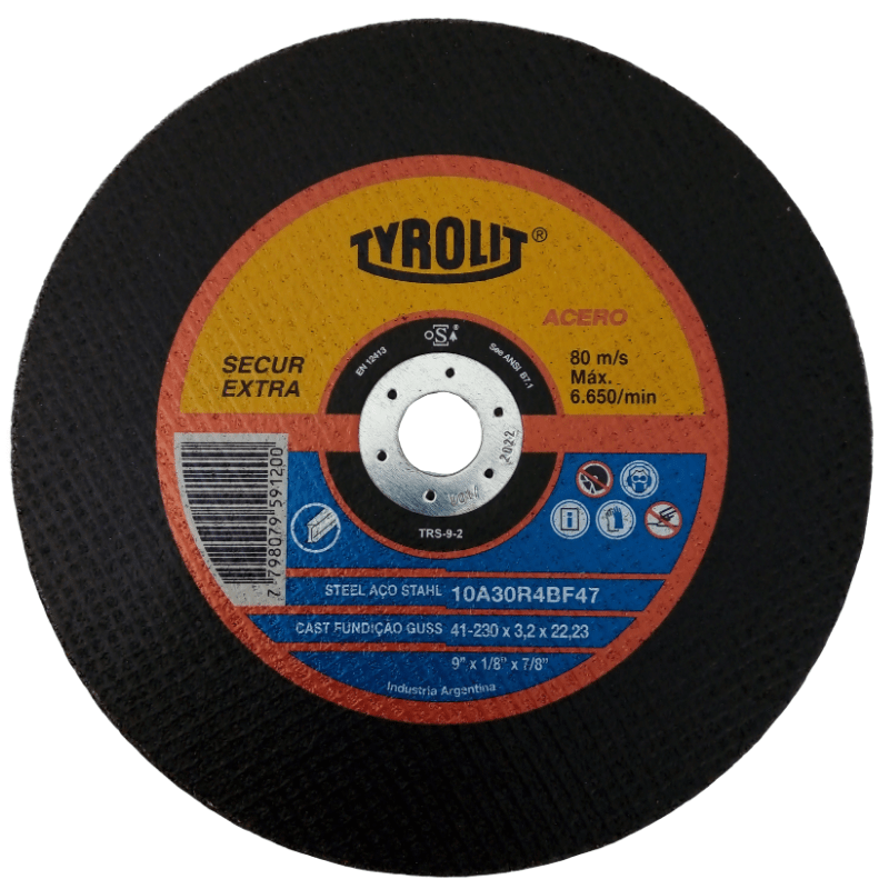 Disco de corte 9
