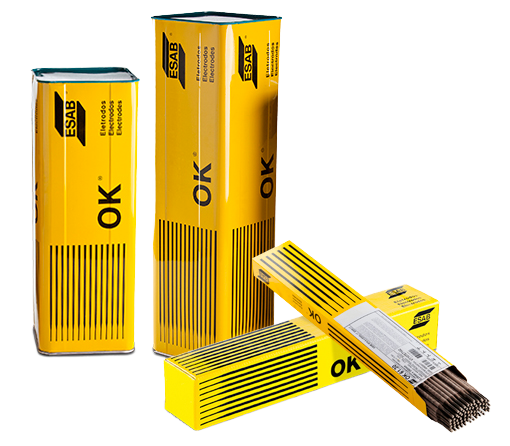 Eletrodo OK 22-45P 3,25mm E6010 Esab Lata de 20kg