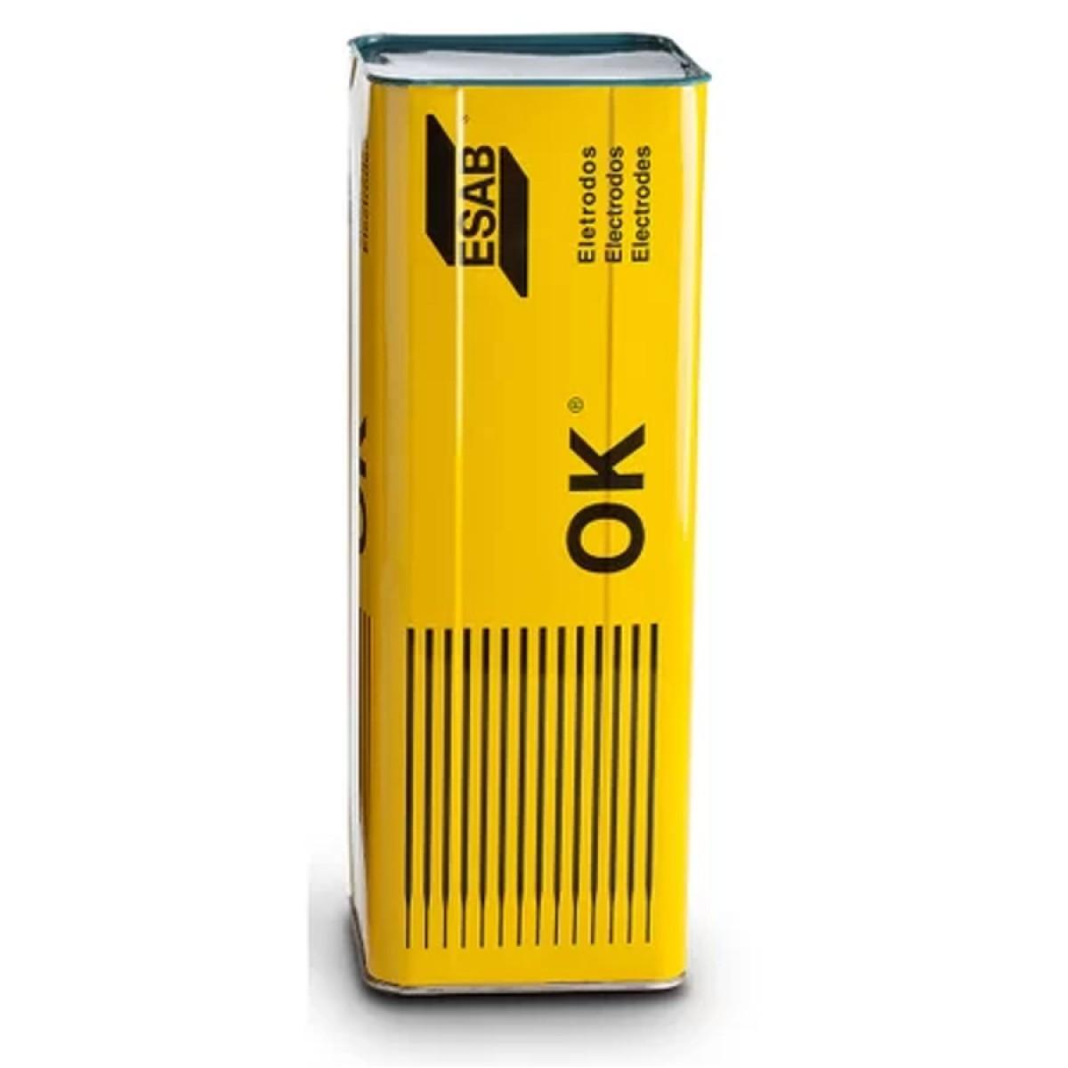 Eletrodo OK 48.04 4,00x450mm E7018 Esab Lata 25kg