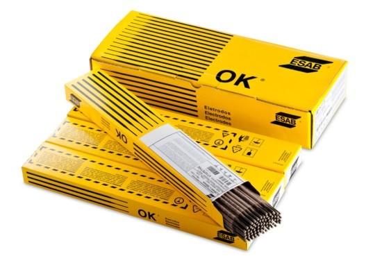 Eletrodo OK 68.65 3,25mm AWS 312L-17 Esab Caixa de 2,5kg