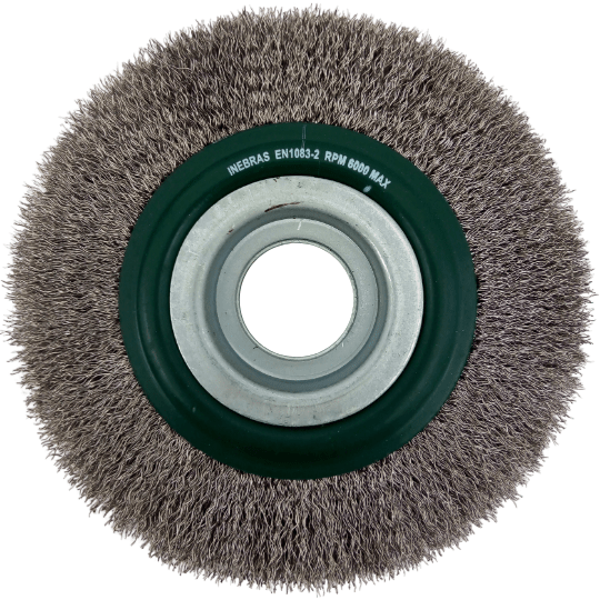 Escova circular ondulada 6