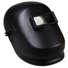 Máscara de solda Advanced com visor fixo e carneira com catraca Carbografite