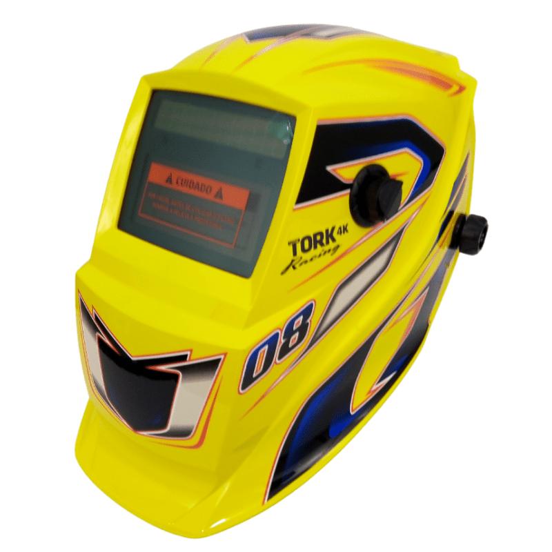 Máscara de solda automática Tork Racing 08 ajustável 9-13