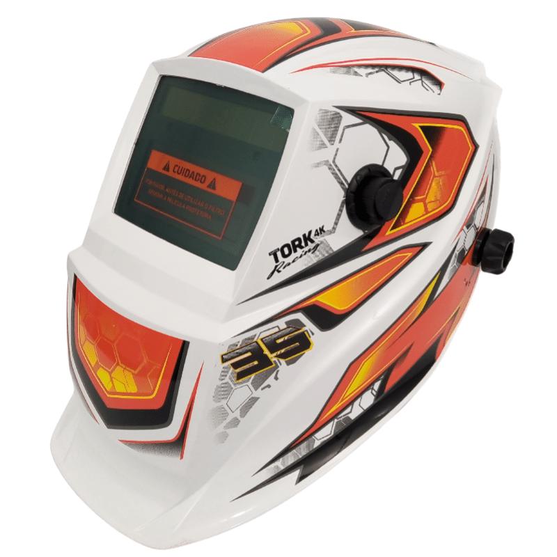 Mascara de solda automática Tork Racing 35 ajustável 9-13