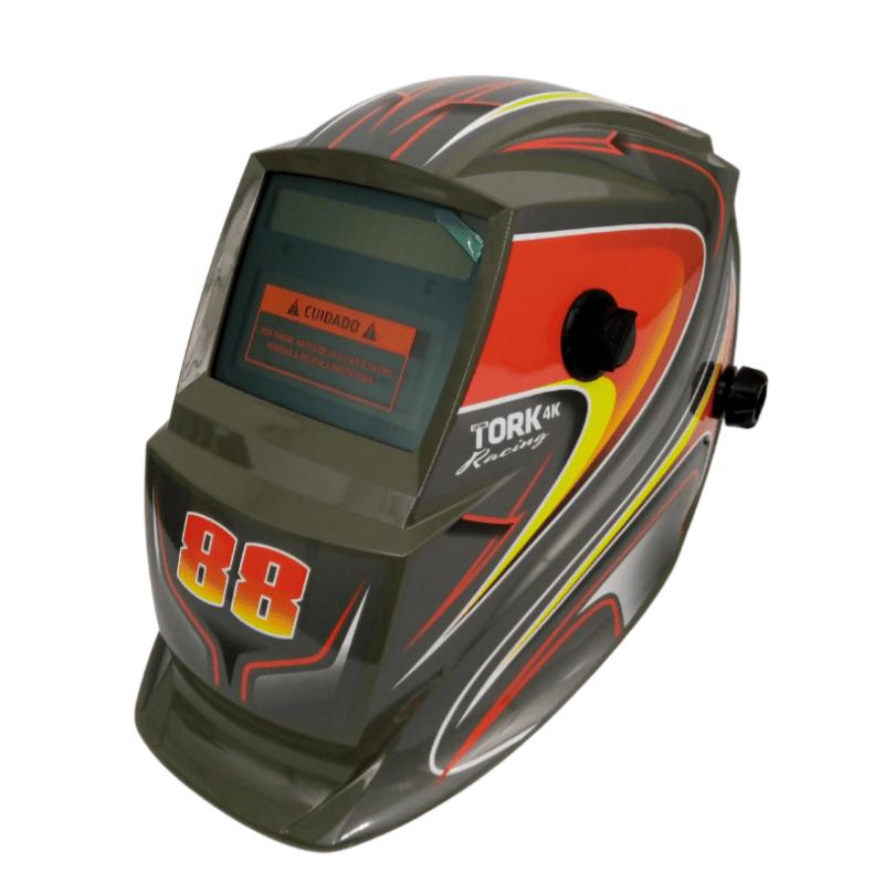 Máscara de solda automática Tork Racing 88 ajustável 9-13