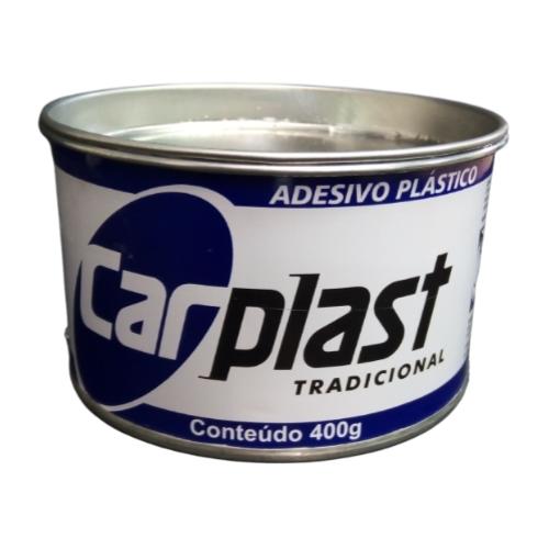 Massa Plástica Cinza 400g Carplast