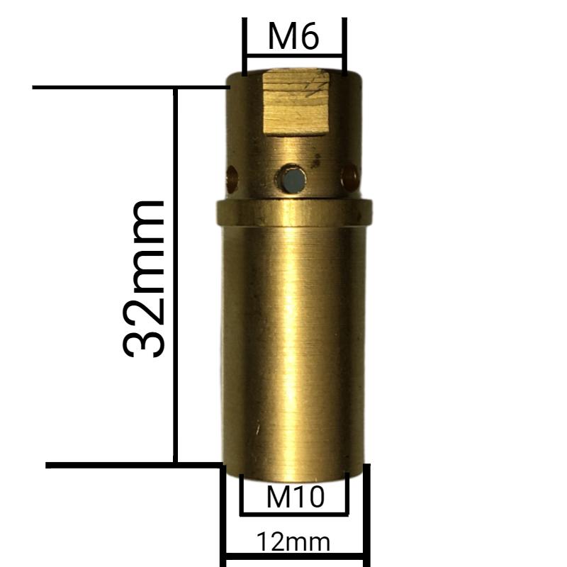 Porta bico MB400 rosca M6