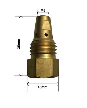 Porta bico MB423 com rosca M6