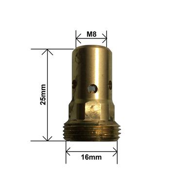 Porta bico MB600 com rosca M8